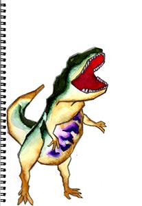 オリジナル恐竜